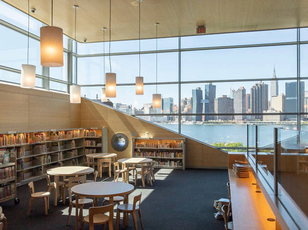 NYC's newest library is a hit with bibliophiles of all ages