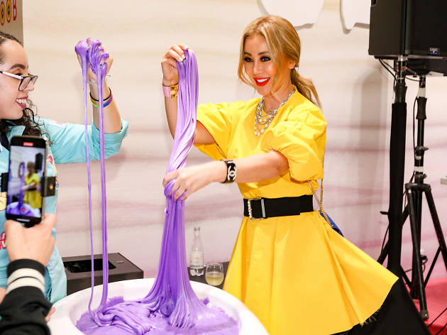 NYC's slime experience makes for ooey gooey fun