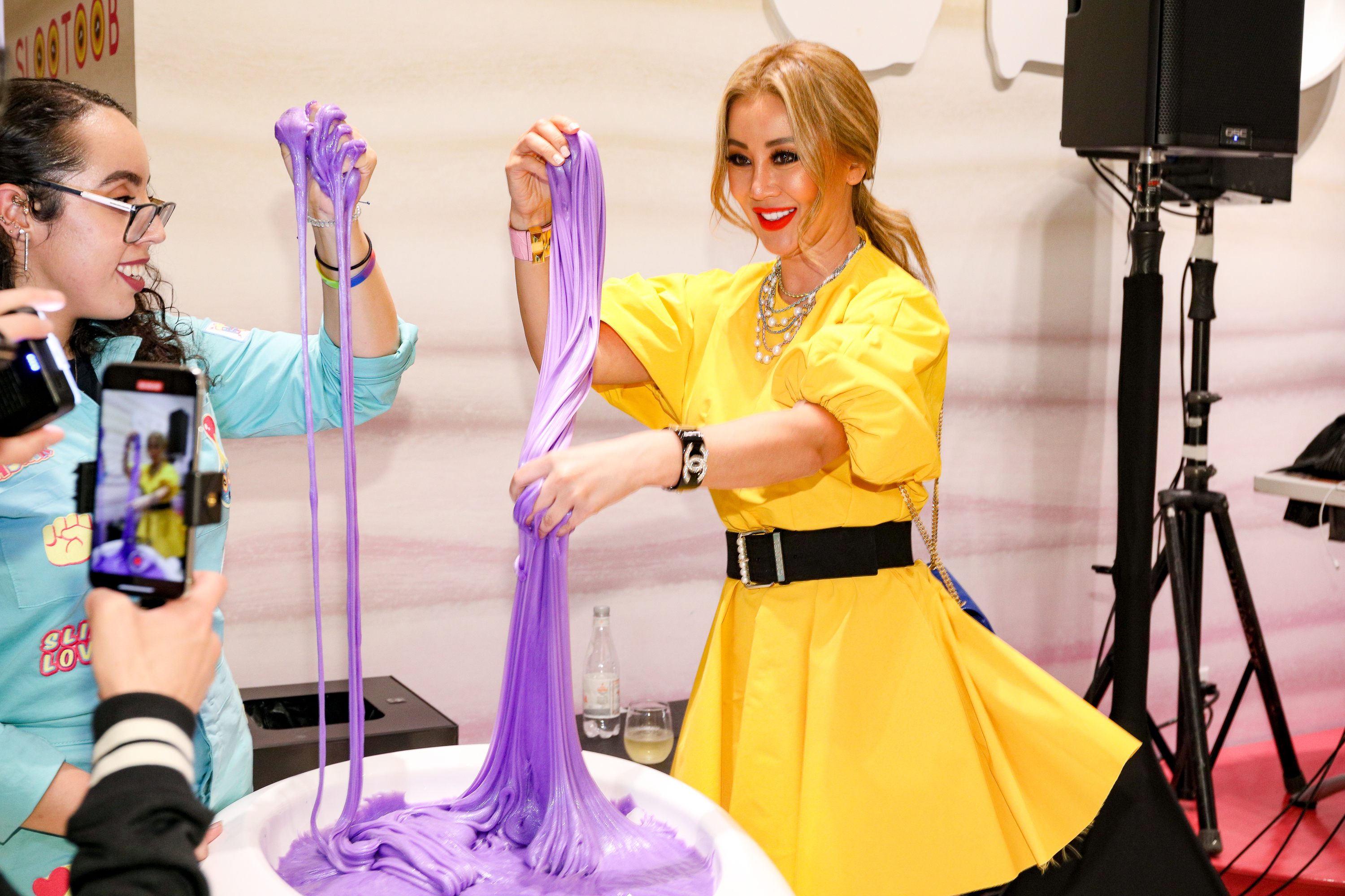 A slime experience comes to NYC