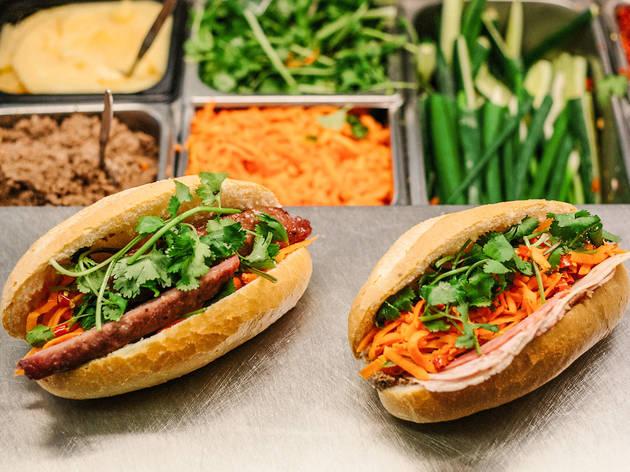 Banh Mi at Spring Hot Bread