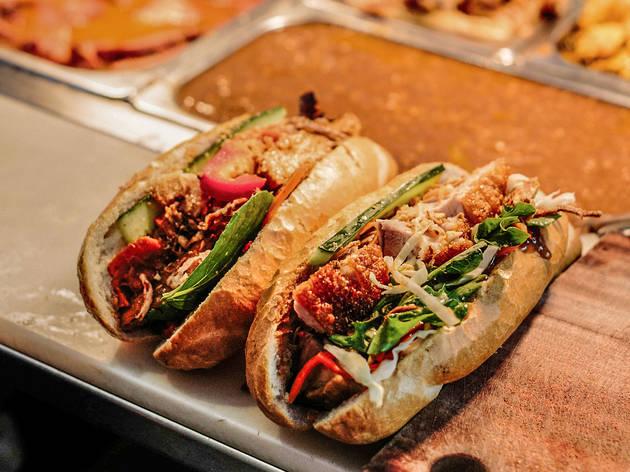 Banh Mi at Trang Bakery and Café