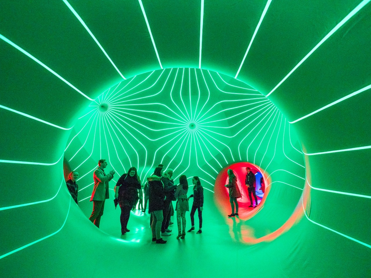 Dodecalis Luminarium Sydney Festival supplied 2020