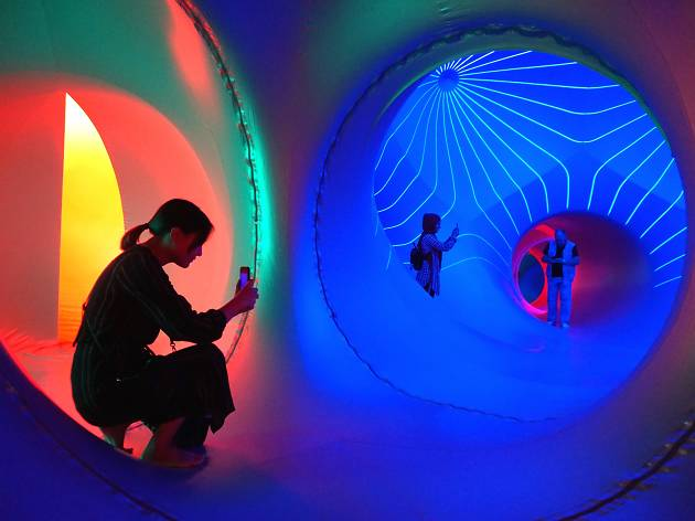 Dodecalis Luminarium Sydney Festival 2020 supplied