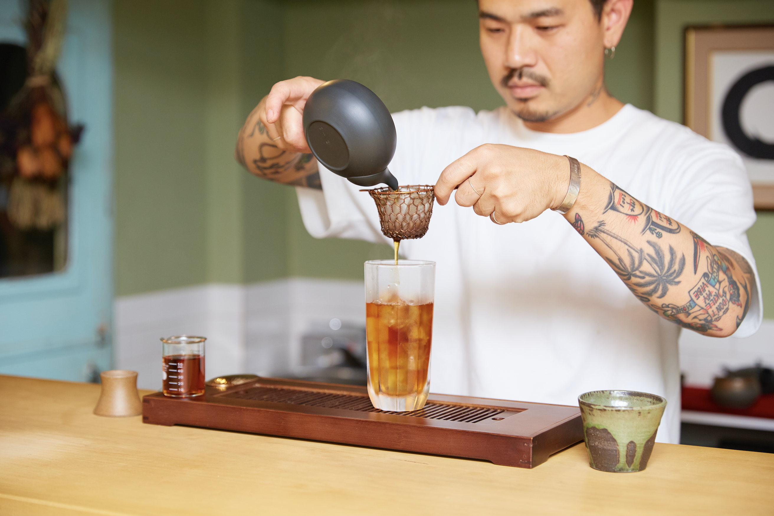 Where to drink tea cocktails in Tokyo