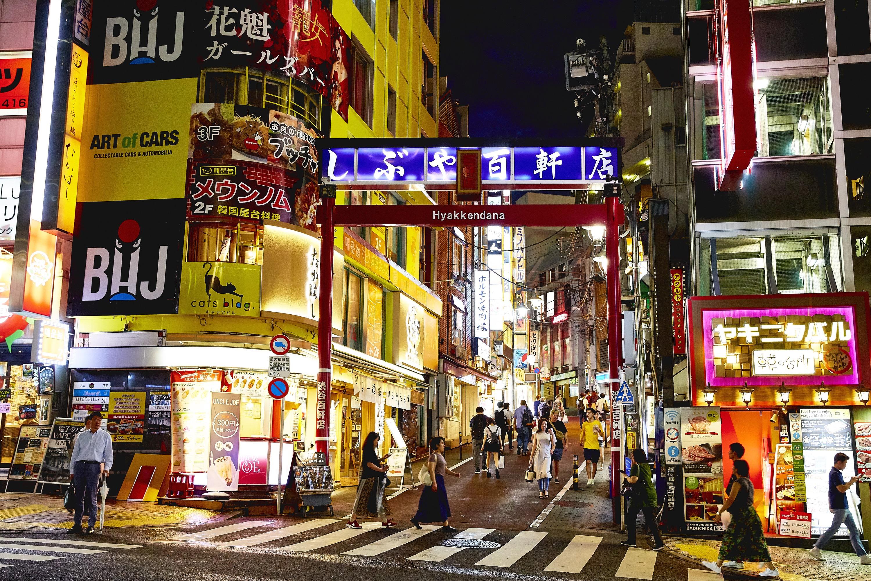 渋谷百軒店商店街