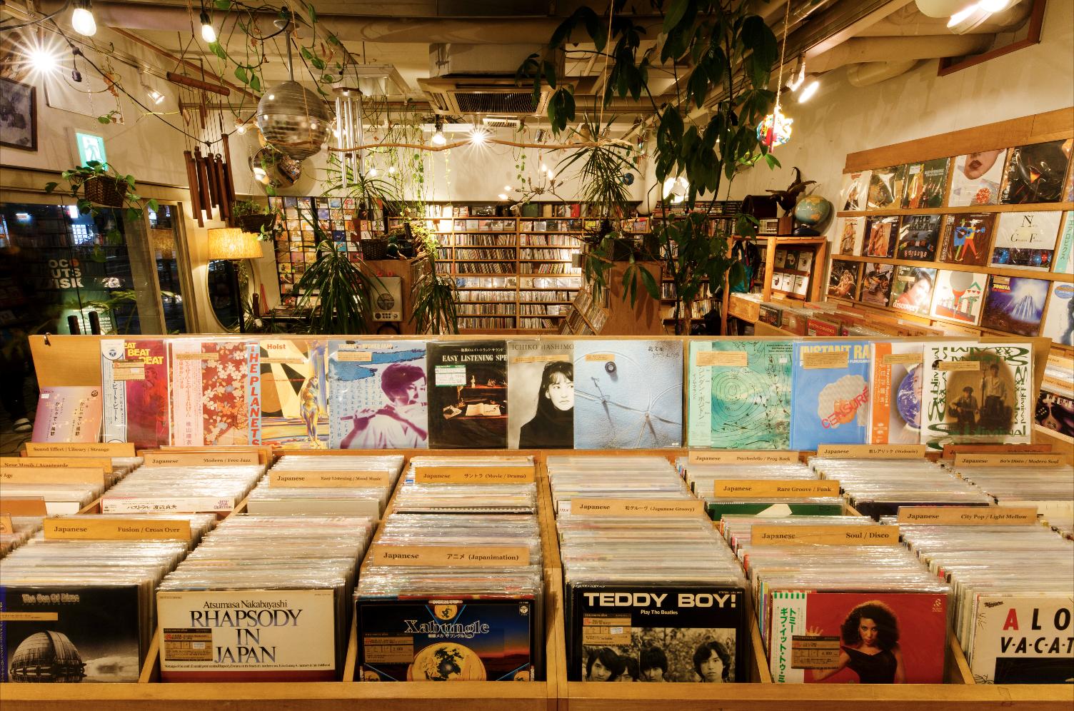 東京で行くべきレコードショップ