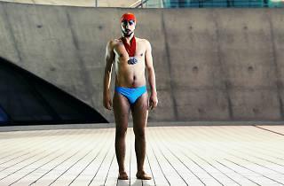 Eid Aljazairli is a refugee and aspiring Olympic swimmer