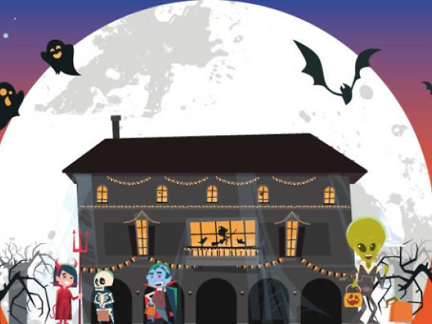 Halloween, Poble Espanyol