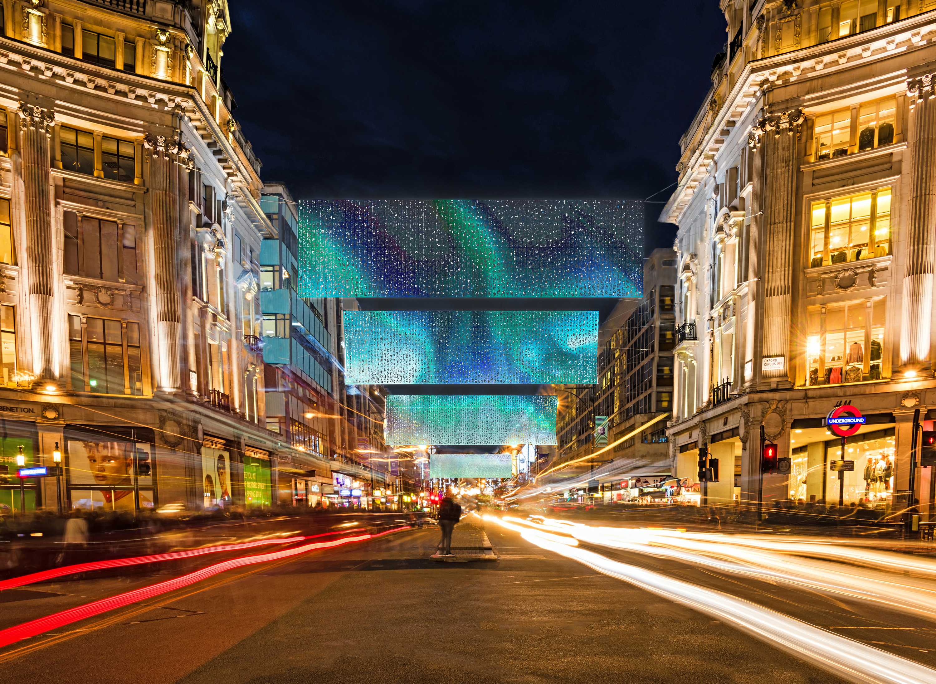 Oxford Street is getting brand new Christmas lights