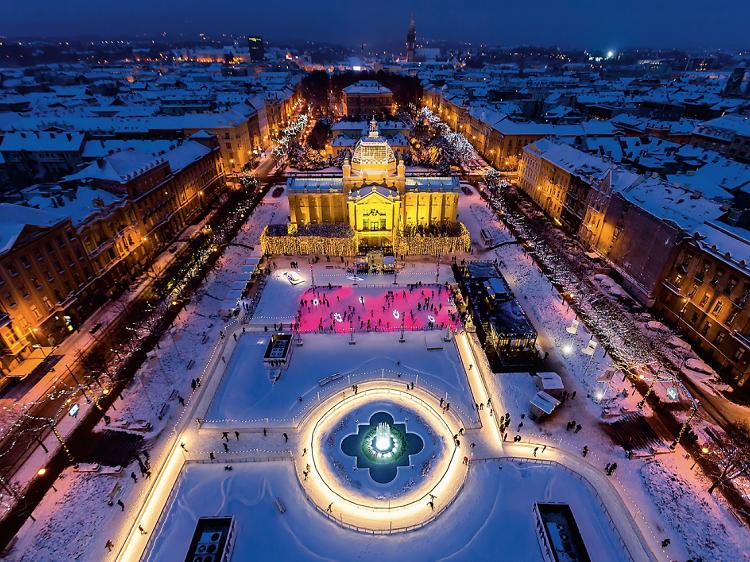 Advent u Zagrebu (Croácia)