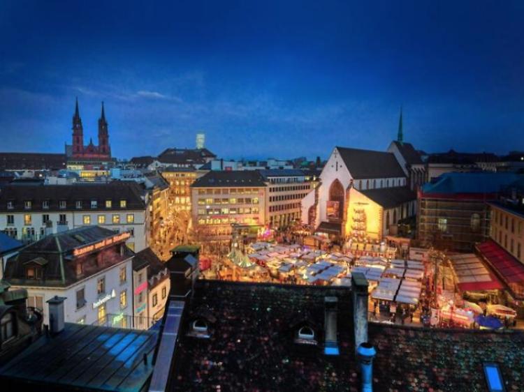Basler Weihnachtsmarkt (Suíça)