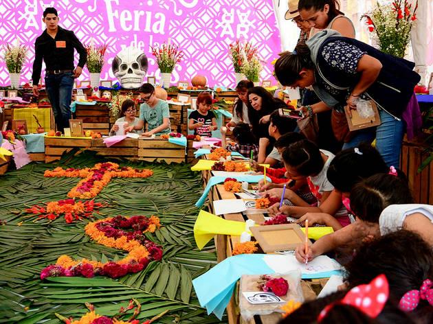 Feria de las Calacas 2019 (Foto: Cortesía Alas y Raíces/Secretaría de Cultura)