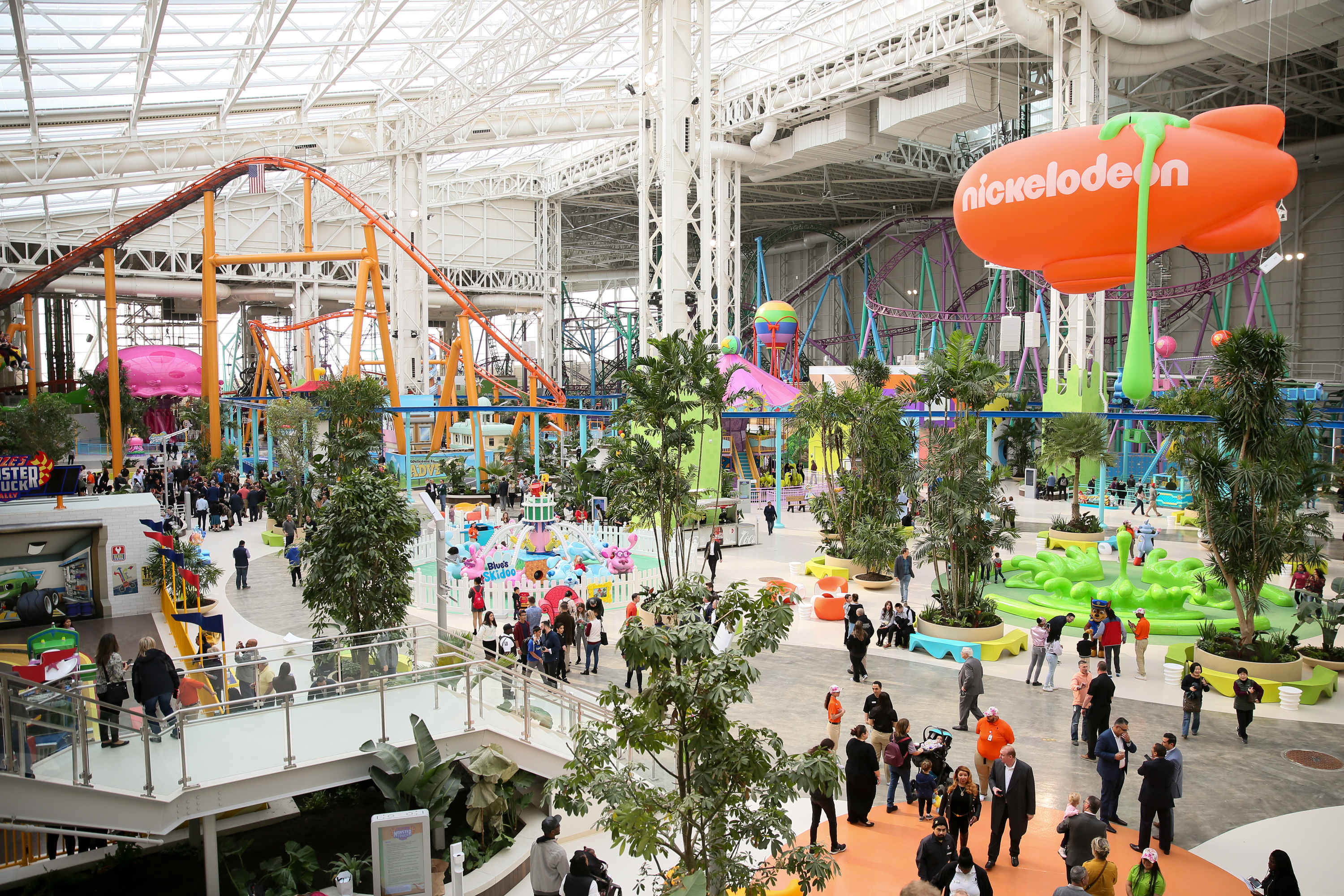Nickelodeon Universe at American Dream: Opening Day