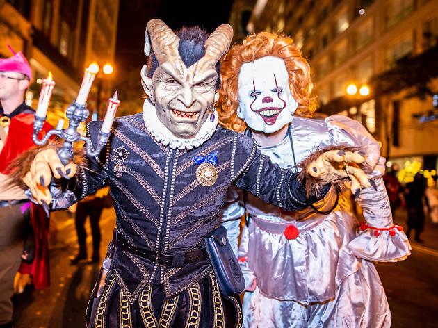 Halloween Freak Show en el Hotel W