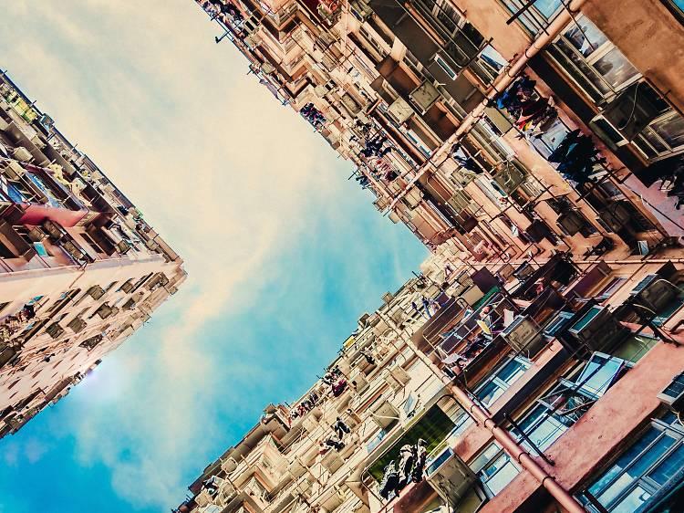 Dense buildings