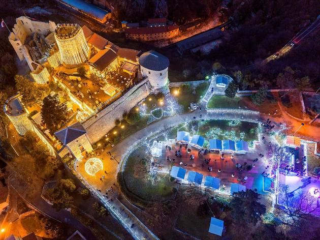 Trsat Castle at Advent