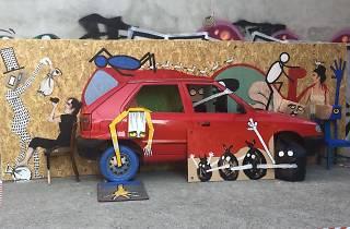 Street Art: Francisco de Pájar 'art is trash'