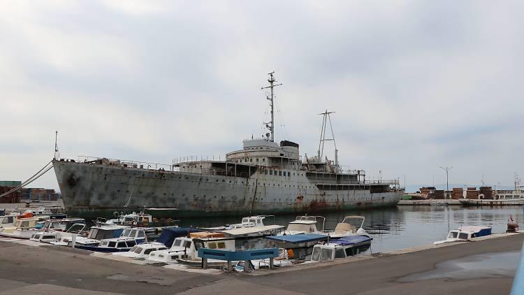 Tito's yacht 'The Seagull' (Galeb)