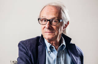 A portrait of the director Ken Loach