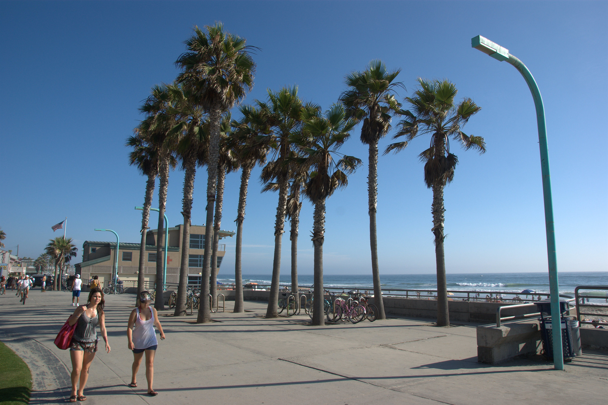 Pacific Beach Board Walk San Diego
