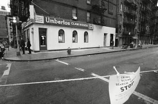 Scorsese's new film The Irishman re-creates a notorious Little Italy seafood restaurant