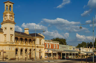 Streetscape of Beechworth