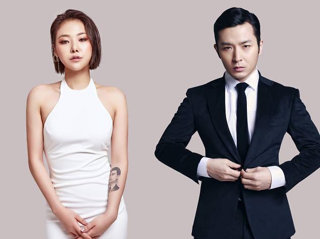 Cheetah and Verbal Jint host K-Pop Live