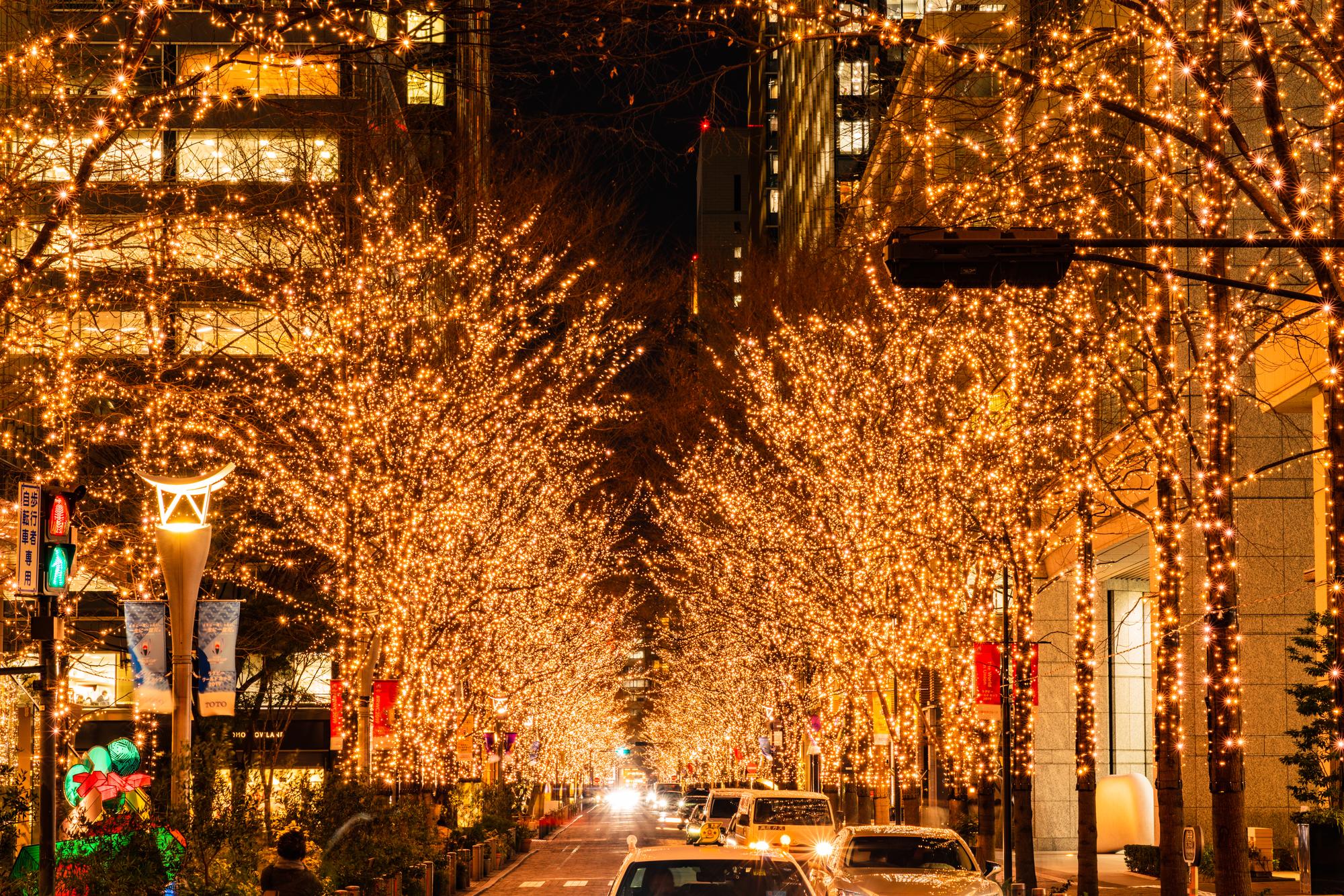 東京、イルミネーション