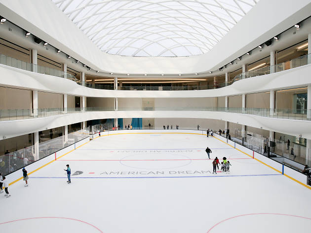 American Dream hosts a FREE spooky skating session on its new NHL-sized rink
