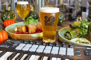 Enjoy paired beers at this sonically seasoned dining experience