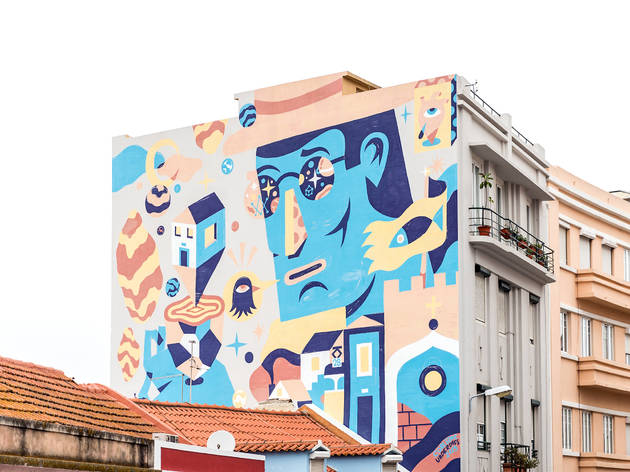 Street Art na Graça