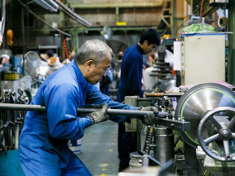 工場を生かして鉄工島の歴史に目を向ける