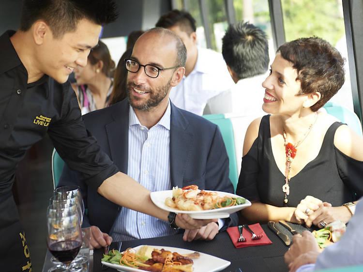 Gourmet Bus Dinner Tours