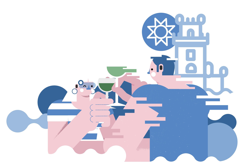 Ilustração de Tiago Galo