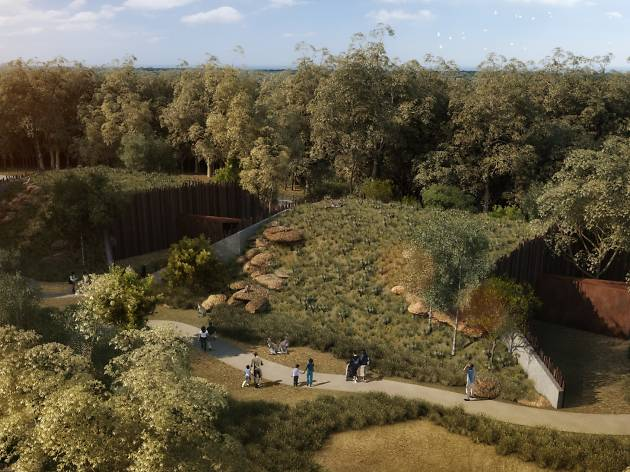 A rendering of the Sydney Zoo Reptile and Nocturnal Animal House