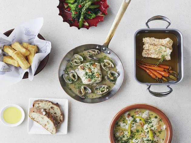 An exclusive sharing menu at Ametsa