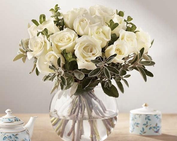 Fortnum & Mason Christmas flowers