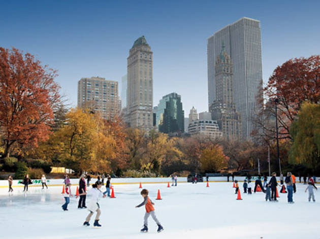 Best ice-skating for families in NYC