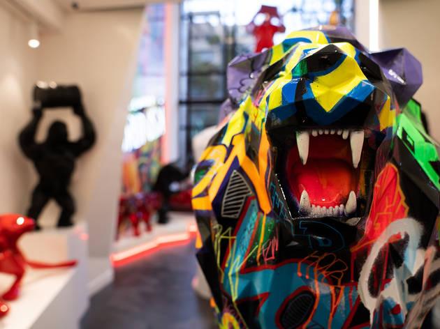 Richard Orlinski, uno de los artistas franceses más vendidos del mundo en la CDMX
