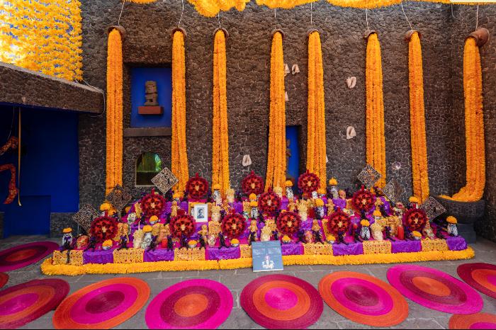 Ofrenda museo frida kahlo 2019