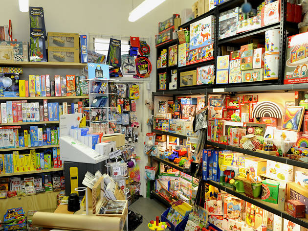 Interior of toy and gift shop Stranger Than Paradise Gifts