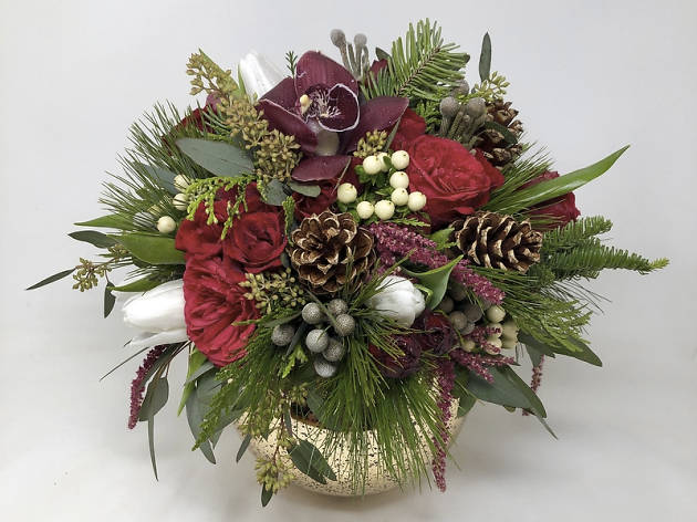 Starbright Floral Design Christmas flowers