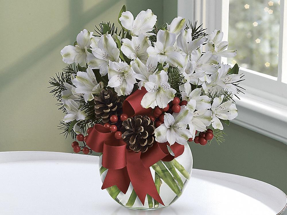 Marine Florists Christmas flowers