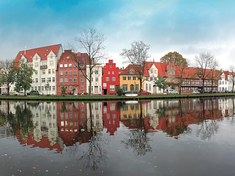 Lübeck (Alemania): Pueblos de postal