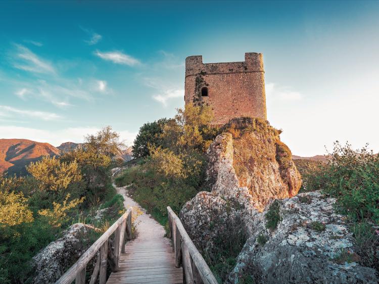 Zahara de la Sierra: Cádiz en las alturas