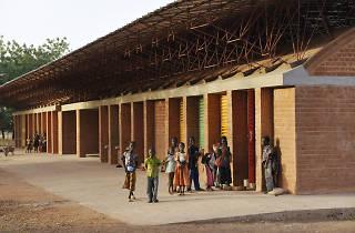 A escola primária de Gando, no Burkina Faso