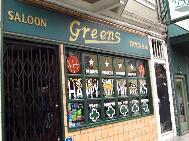 Greens sports bar