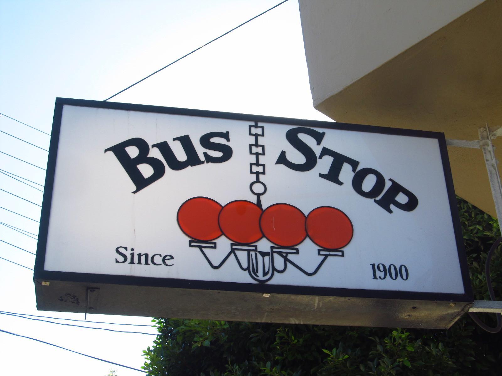 Bus Stop bar