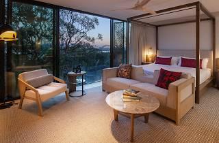 A suite at Taronga Zoo Wildlife Retreat