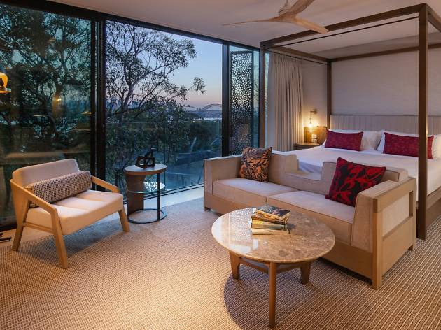 A suite at Taronga Zoo's new Wildlife Retreat